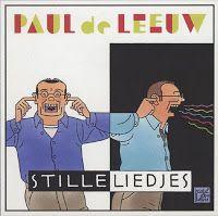 Paul de Leeuw: Stille liedjes, cover by Joost Swarte