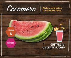 Le miniguide dei prodotti di stagione #cocomero della spesa di #luglio #benessere #territoricoop