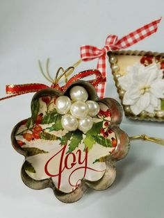 Christmas Crafts: Vintage Cookie Cutter Ornaments DIY