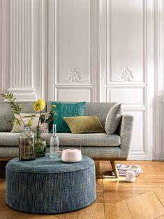 Viste tu casa de otoño con las últimas novedades en telas Furniture, Perfect Rug, Made To Measure Curtains, Headboard Styles, Home Decor, Rug Buying Guide, Home Styles, Rug Shopping, House Colors