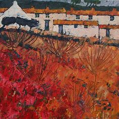 Autumn Parsley by British Contemporary Artist John PIPER