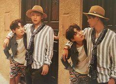 taekook my hearteu  __ 「 2016 Summer Package 」 © candybts  #taehyung #bts