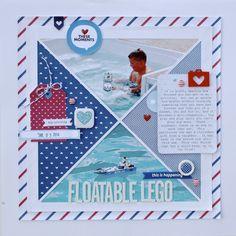 Floatable Legos - Scrapbook.com