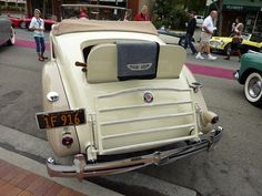 1935 Packard 1201 Convertible Coupe Rumble Seat