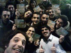 Un #selfie con alcuni dei nostri #fan! #Grazie a tutti per essere venuti! #foyerback