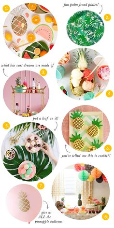 Party Trends: Pineapples & Palms | The Sweet Lulu Blog