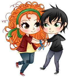 Eleanor and Park by Jess1578.deviantart.com on @DeviantArt