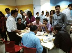 Jashn-E-Biryani was celebrated in Hypercity Staff Canteen on 22nd Jul. 2015. Mouth watering Veg. & Non-Veg. Biryani with Raita and Semiya Payasam as sumptuous dessert virtually floored the 250 strong Staff members of Hypercity. The Biryani treat which was sponsored by Manoj Multifoods jointly with Daawat Biryani Rice, will be remembered for a very long time to come !!!