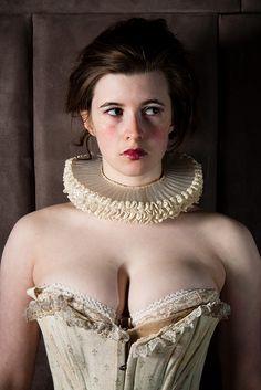 Elizabethan ruff!