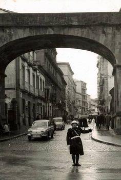 Porta da Estación de Lugo - Fotos antiguas: Lugo