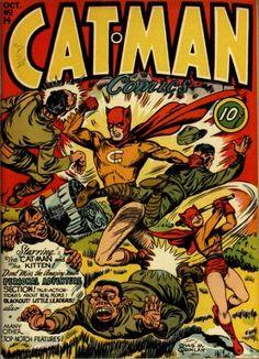 Cat-Man Comics (Volume) - Comic Vine