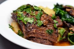 Main: Slow Cooker Korean Grass-Fed Short Ribs | 9 Super Romantic Dinners For Two