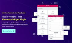 Mighty Addon Elementor Widget Plugin Review By Mighty Themes Wordpress Plugins, Wordpress Theme, Free Ebooks, Your Design, Things To Come, Templates, Stencils, Western Food