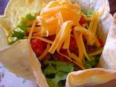 The Sisters Dish: Taco Salad