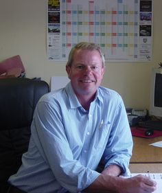 Simon Shield working in our office in Suffolk, IP7 7DR