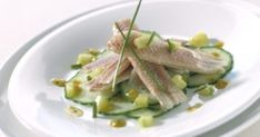 Fish Dishes, Tapas, Asparagus, Green Beans, Brunch, Appetizers, Low Carb, Yummy Food, Meals