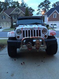 Halloween jeep