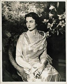 OTTOMAN ~ 1940 ~ Princess Durrushevar, daughter of Abdulmecid II, the last Ottoman emperor.