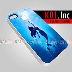 Apple Little Mermaid Design  iPhone 4/4s/5 Case  Samsung by K01Inc, $15.50