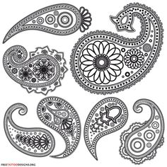 Image result for how to draw henna designs on paper step by step for beginners
