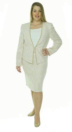 f14b6d2e13 Amazon.com: Tahari Women's Sasha Vintage Vibe Skirt Suit Set: Clothing