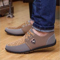 Mens Casual Shoes - Canvas shoes for men