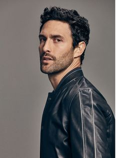 Spring summer 2017 Men´s LIMITED EDITION NAPPA BOMBER JACKET at Massimo Dutti for 249. Effortless elegance!