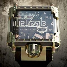 Devon Steampunk - Every watch should be this cool. Just not as expensive. #needawatch