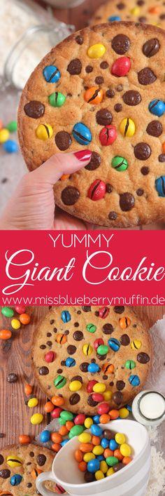 Giant Chocolate Chip Cookie // Riesiger Keks <3 Alleine essen oder teilen?