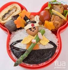 Children's sushi-This seems a bit time consuming,  but im sure some parent is ready to tackle it :)