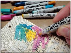 Distress Crayons Blog Hop