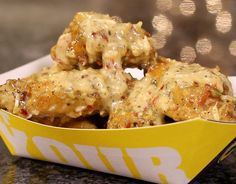 Quite possibly my favorite wings at B-Dubs, primarily because it feels like I'm eating a chicken dinner without those annoying vegetables.  Not only is this a spot on copycat recipe, but just think about all the ways you can use this sauce?  Smoothies, fa