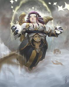 wow t5 priest, xi zhang on ArtStation at https://www.artstation.com/artwork/gwvyK