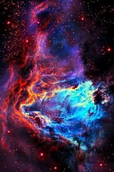 This image from Nasa's Spitzer Space Telescope shows a stellar nursery containing thousand of young stars & developing protostars near the sword of the constellation Orion. by Caroline C. ❦