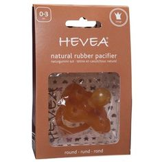 Hevea Pacifiers fly off the shelves down here at Nature Baby Outfitter. This is a great product that you can feel good about giving your baby. - 100% natural rubber latex – people and planet friendly