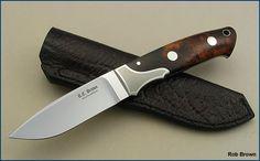 Rob Brown Knives :: Drop Point Hunter