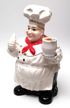 cookie jars | ... › Kitchen Accessories › All Cookie Jars › Fat Chef COOKIE JAR