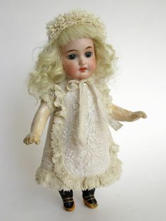 Tiny Dress and Hat for Antique French or German Doll   eBay