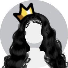 Creative Profile Picture, Cute Profile Pictures, Black Wallpaper, Cartoon Wallpaper, Girl Gang Aesthetic, Thug Girl, Black Girl Cartoon, Picture Icon, Discord