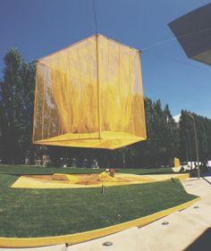 bam! studio debuts monumental cube at MAXXI