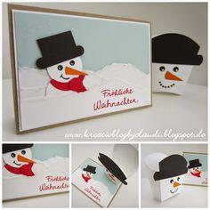 . Kreativ Blog by Claudi: Schnee!