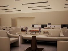 """""""Cafetería"""" Render/Abril 2013 Proyecto.- Ninguno Modelado: Autocad, 3ds Max Materiales: Vray 3ds Max Iluminación: Vray Sun, Vray light. Modificación: Photoshop"""