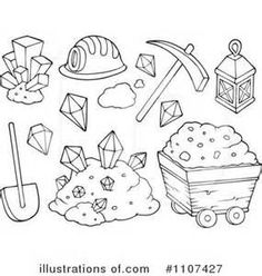 Image Result For Gold Mining Kids Coloring Pages