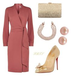 Sunday Delight by flybeyondtheskies on Polyvore featuring MaxMara, Christian Louboutin, Neiman Marcus, Honora and Chanel