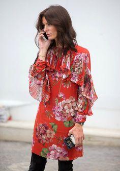 Os melhores looks das fashionistas na LFW e o Floral Dark