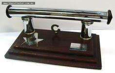 Lot 205 - Vintage chrome Masonic presentation desk stand