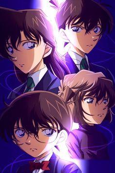 Ran & Shinichi & Conan & Ai