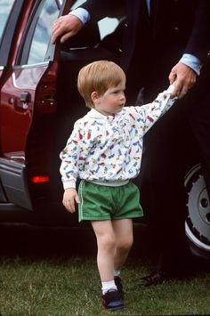 June 14, 1987: Prince Harry at Guards Polo Club, Smiths Lawn, Windsor (x)