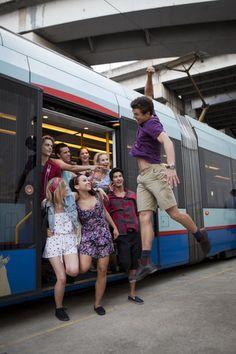 2x07 - A Choreographed Life - Ethan, Sammy, Tara, Kat, Christian, Abigail, Grace and Sammy - dance-academy Photo