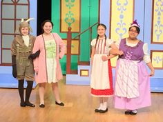 Goatherd Ensemble costumes from the Sound of Music